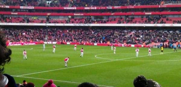 Emirates Stadium, secção: 15, fila: 25