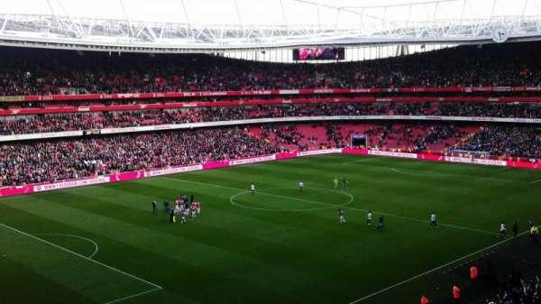 Emirates Stadium, secção: 95, fila: 2