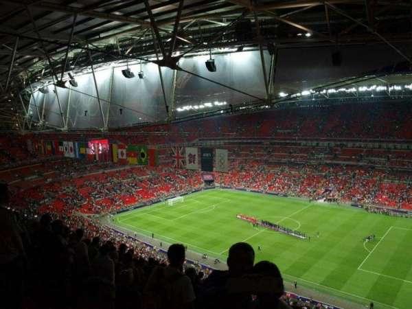 Wembley Stadium, secção: 523, fila: 33, lugar: 275