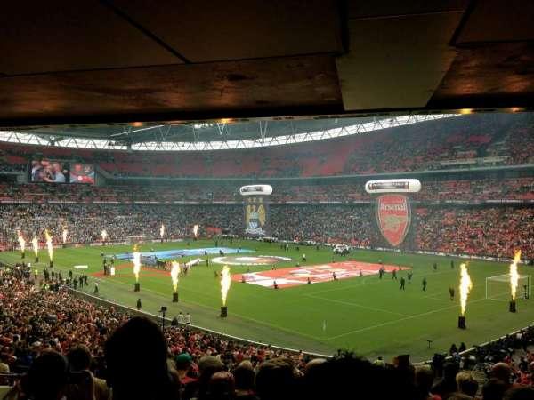 Wembley Stadium, secção: 139, fila: 43, lugar: 148