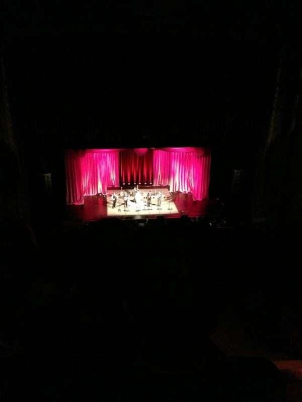 Chicago Theatre, secção: Balcony3L, fila: P, lugar: 301