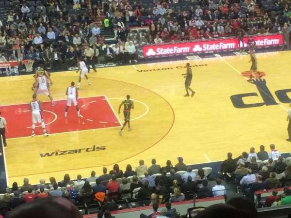 Capital One Arena, secção: 214, fila: F, lugar: 1