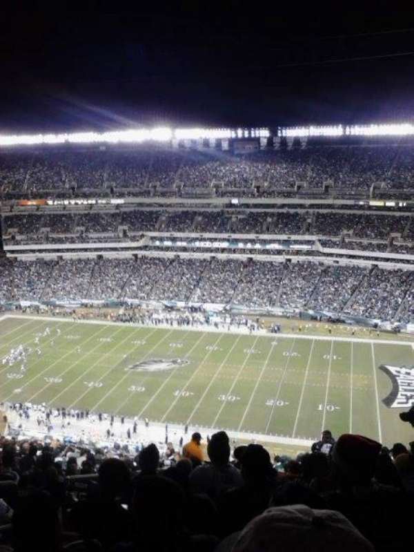 Lincoln Financial Field, secção: 228, fila: 29, lugar: 31