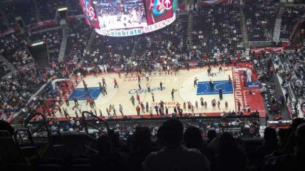Staples Center, secção: 317, fila: 9, lugar: 7