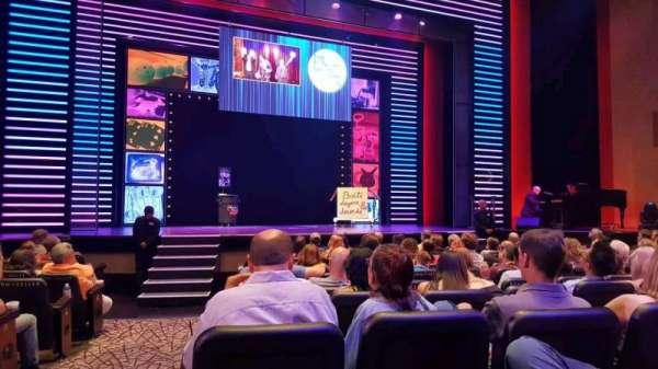 Penn & Teller Theater, secção: 2, fila: G, lugar: 17