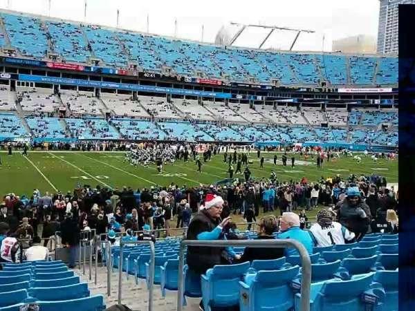 Bank of America Stadium, secção: 136, fila: 14, lugar: 1