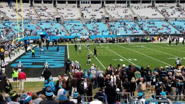 Bank of America Stadium, secção: 136, fila: 14, lugar: 2