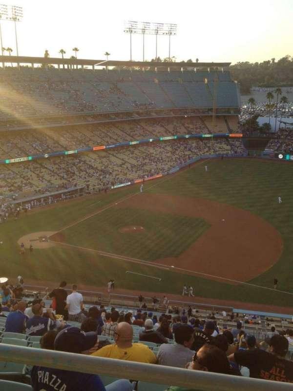 Dodger Stadium, secção: 22RS, fila: BB, lugar: 9