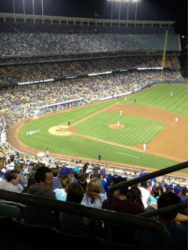 Dodger Stadium, secção: 18RS, fila: BB, lugar: 22