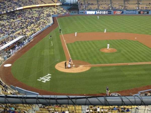 Dodger Stadium, secção: 6RS, fila: B, lugar: 17