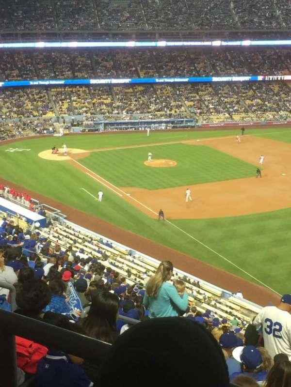 Dodger Stadium, secção: 42RS, fila: BB, lugar: 22
