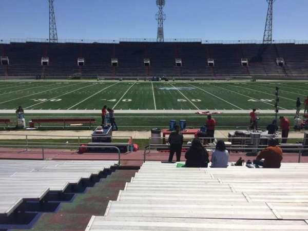 Ladd Peebles Stadium, secção: F, fila: 14, lugar: 25