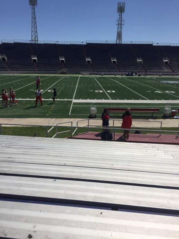 Ladd Peebles Stadium, secção: H, fila: 12, lugar: 8