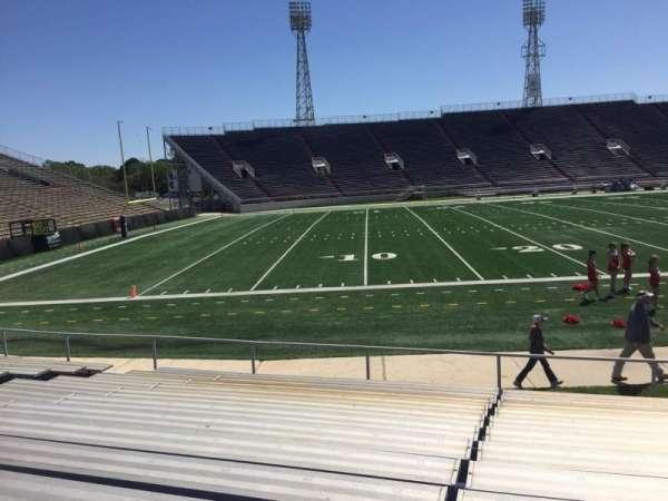 Ladd Peebles Stadium, secção: I, fila: 12, lugar: 13