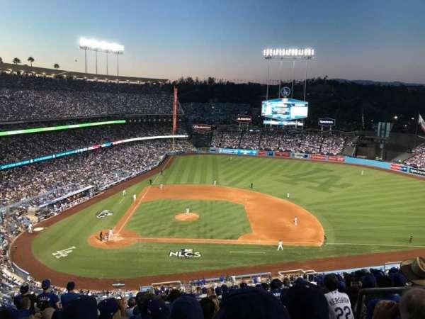 Dodger Stadium, secção: 10RS, fila: R, lugar: 21