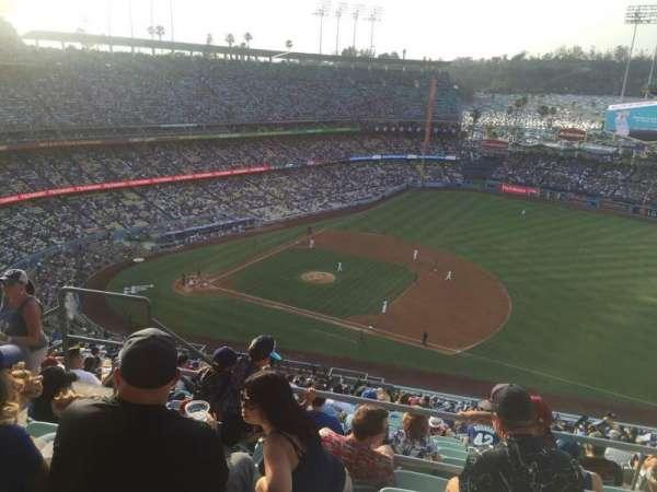 Dodger Stadium, secção: 22RS, fila: EE, lugar: 4