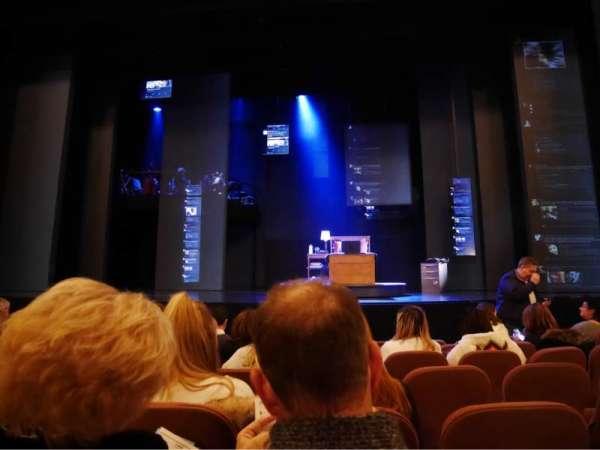 Music Box Theatre, secção: Orchestra Centre, fila: G, lugar: 105