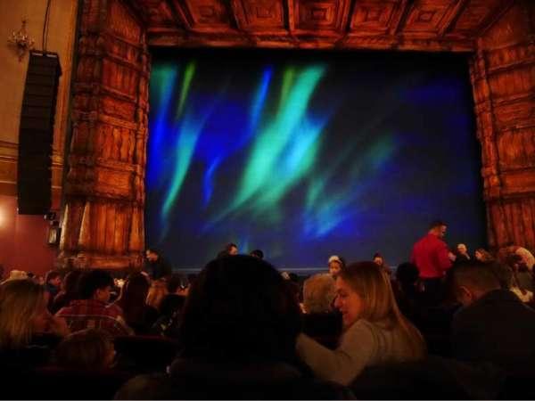 St. James Theatre, secção: Orchestra Centre, fila: K, lugar: 112