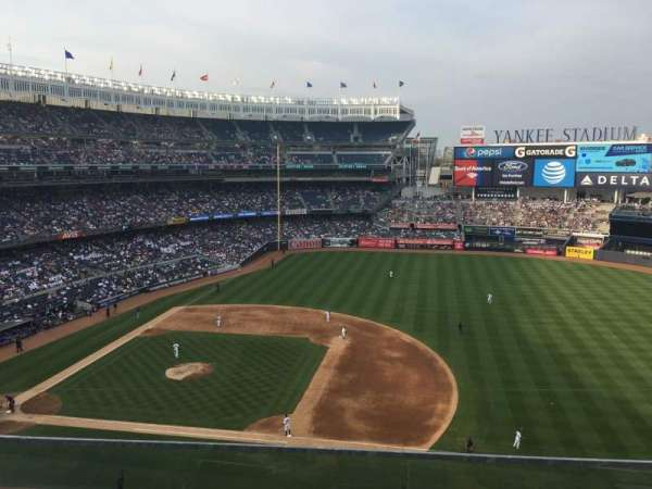 Yankee Stadium, secção: 314, fila: 2