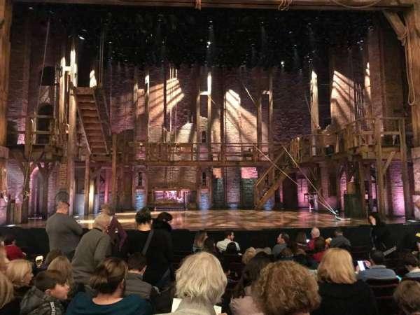 Richard Rodgers Theatre, secção: Orchestra C, fila: K, lugar: 109