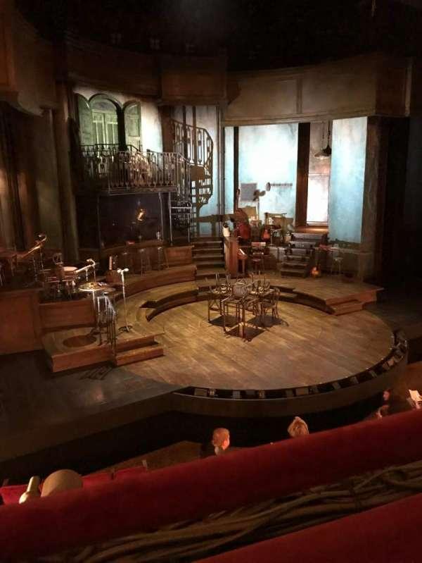 Walter Kerr Theatre, secção: Mezzanine L, fila: A, lugar: 7