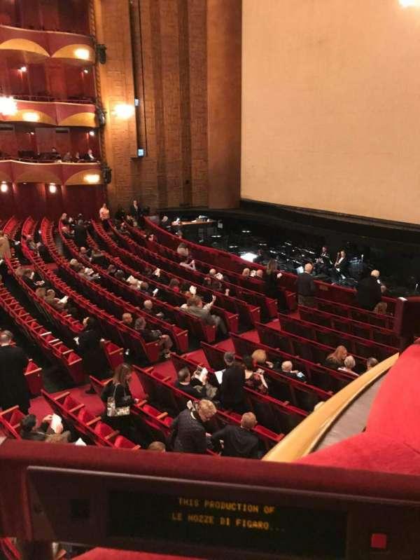 Metropolitan Opera House - Lincoln Center, secção: Parterre, fila: Box 10, lugar: 3