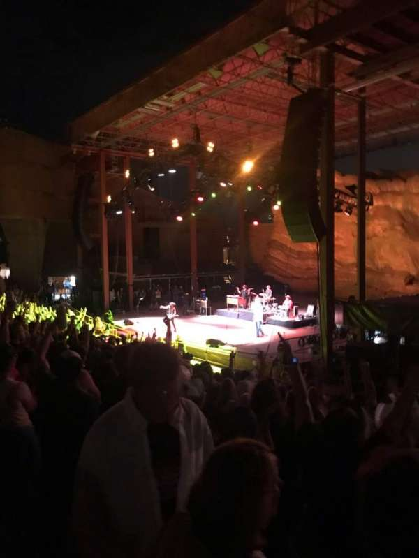 Red Rocks Amphitheatre, fila: 11, lugar: 3-6