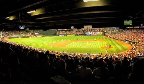 Oriole Park at Camden Yards, secção: 47, fila: 13, lugar: 4