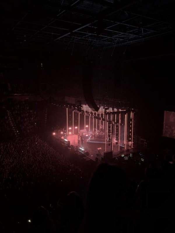 Mohegan Sun Arena, secção: 106, fila: E, lugar: 14