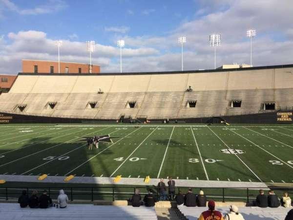 Vanderbilt Stadium, secção: E, fila: 19, lugar: 18