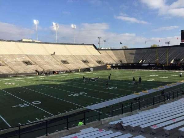 Vanderbilt Stadium, secção: B, fila: 19, lugar: 31