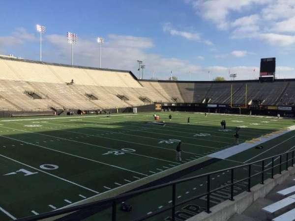 Vanderbilt Stadium, secção: A, fila: 16, lugar: 18