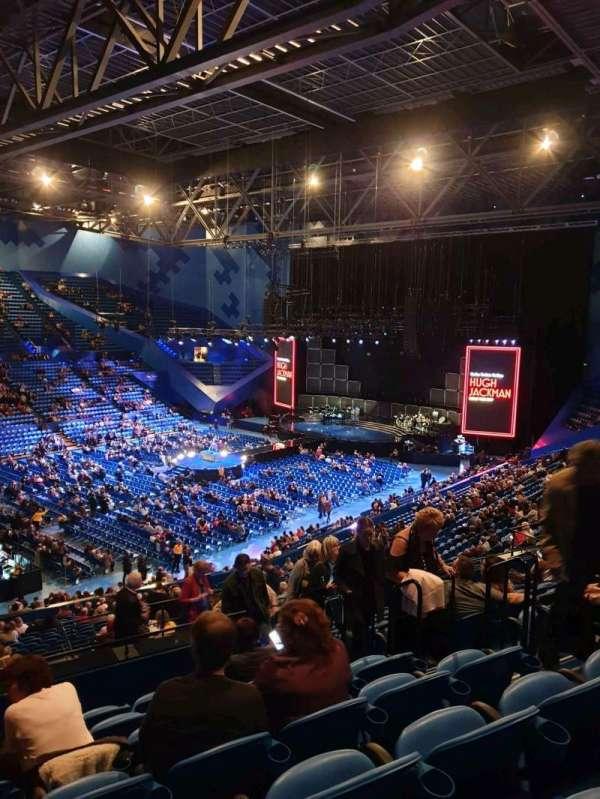 RAC Arena, secção: 309, fila: L, lugar: 5