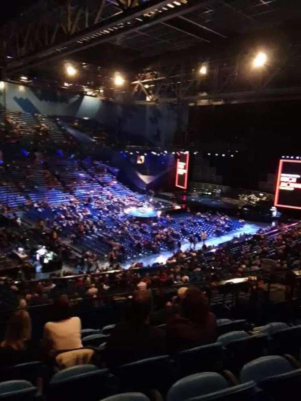 RAC Arena, secção: 309, fila: L, lugar: 6