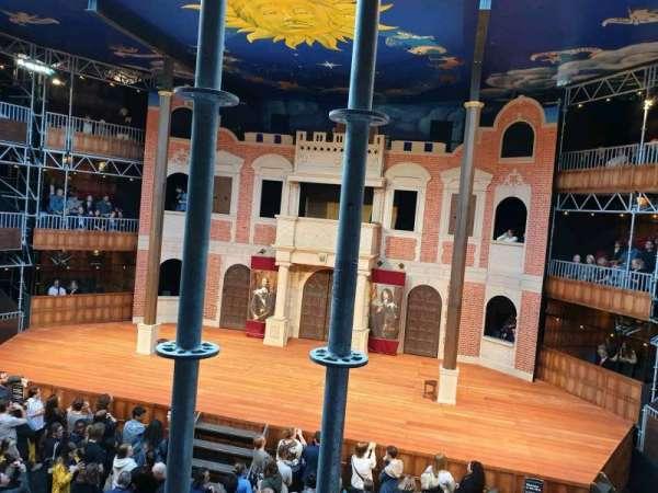 Pop-Up Globe Theatre (Perth Western Australia), secção: Mid Level G, fila: B, lugar: 35