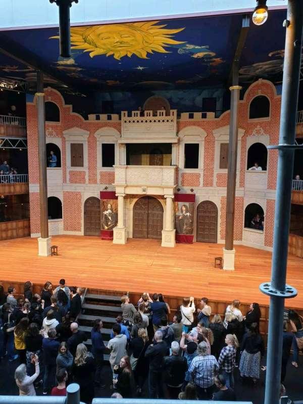 Pop-Up Globe Theatre (Perth Western Australia), secção: mid level G, fila: B, lugar: 36