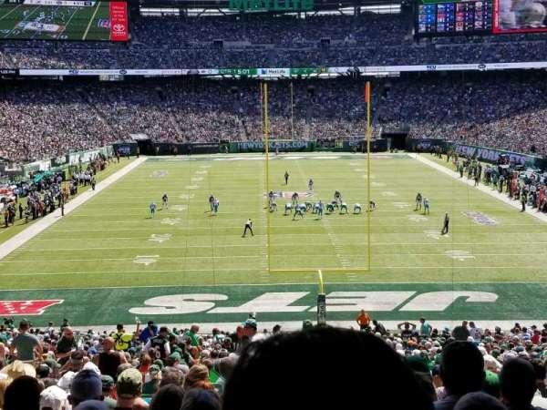 MetLife Stadium, secção: 101, fila: 44, lugar: 26