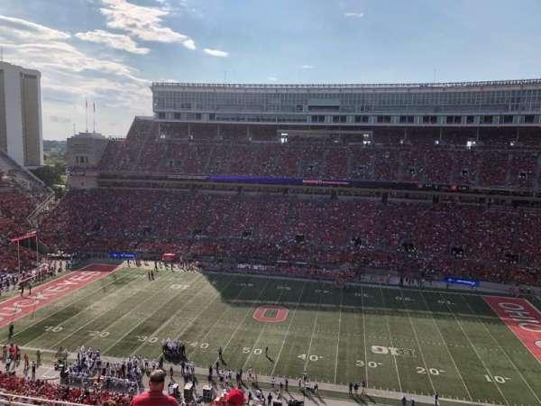 Ohio Stadium, secção: 20c, fila: 18, lugar: 15-16