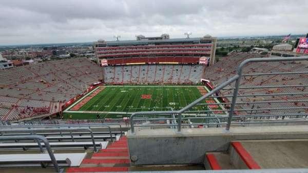 Memorial Stadium (Lincoln), secção: 606, fila: 9, lugar: 2
