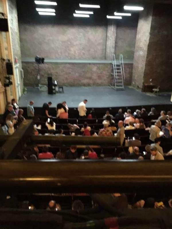 Hudson Theatre, secção: Dress Circle C, fila: A, lugar: 102