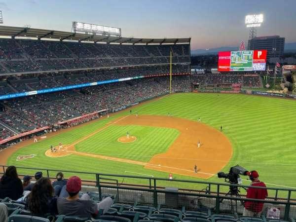 Angel Stadium, secção: 426, fila: H, lugar: 17