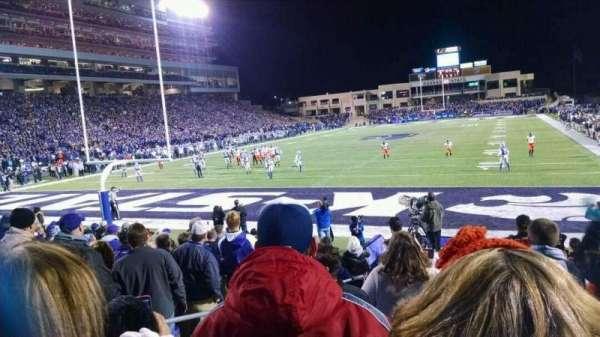 Bill Snyder Family Stadium, secção: 16, fila: 13, lugar: 6