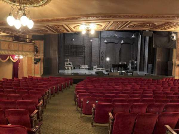 Walter Kerr Theatre, secção: Orch L, fila: S, lugar: 1