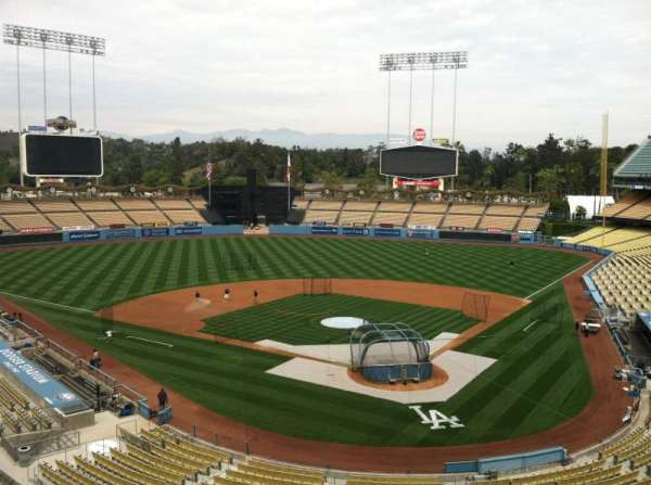 Dodger Stadium, secção: Vin Scully Press Box