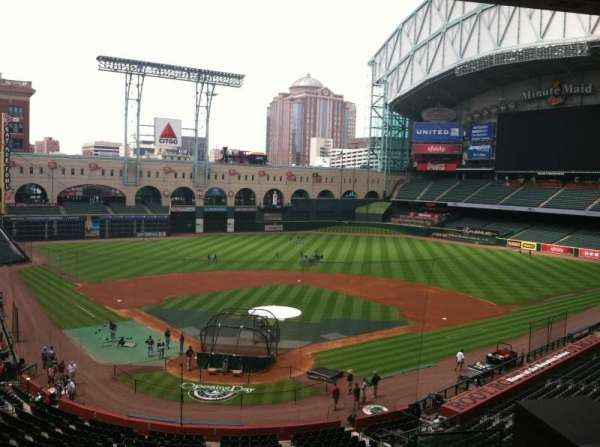 Minute Maid Park, secção: Press Box