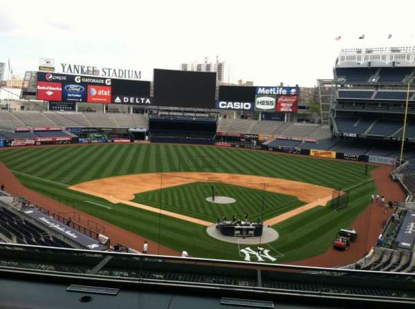 Yankee Stadium, secção: Press Box