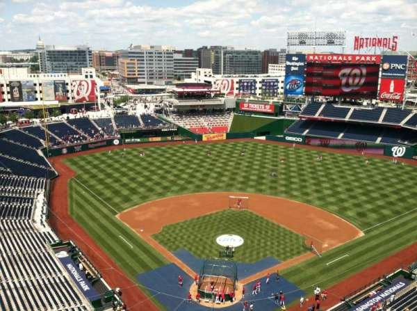 Nationals Park, secção: Press Box