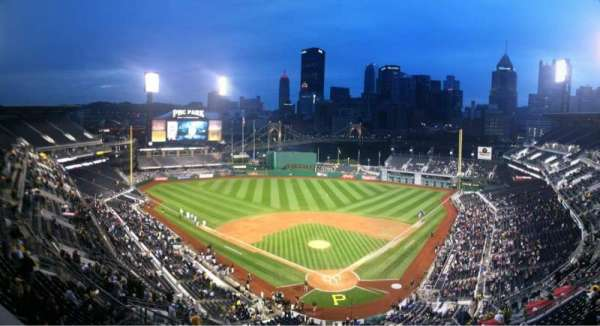 PNC Park, secção: Press Box
