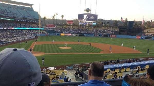 Dodger Stadium, secção: 122LG, fila: C, lugar: 3