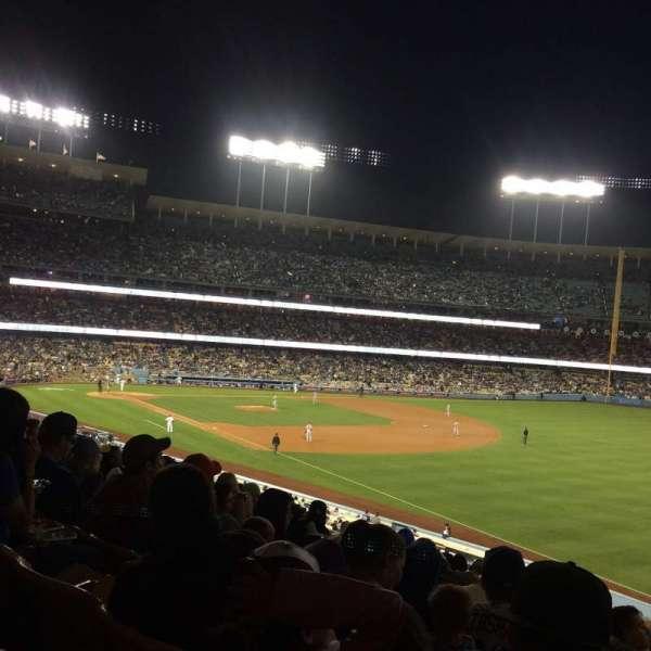 Dodger Stadium, secção: 158LG, fila: N, lugar: 16